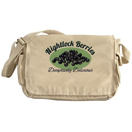 Nightlock Berries Messenger Bag