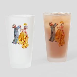 Lafayette's Minuet Drinking Glass