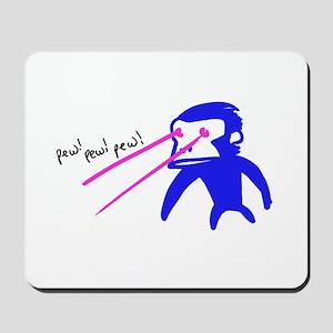 Pew Pew Pew Mousepad