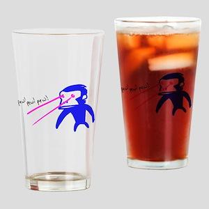 Pew Pew Pew Drinking Glass