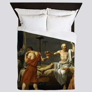 The Death Of Socrates Queen Duvet