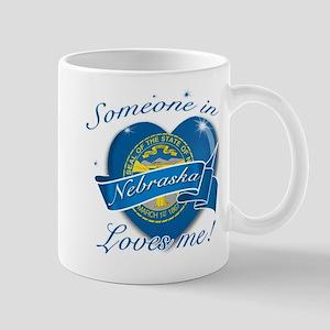 Nebraska Heart Designs Mug