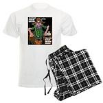 Men's Light Western Humor Pajamas