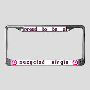 Recycled Virgin (Girls') License Plate Frame