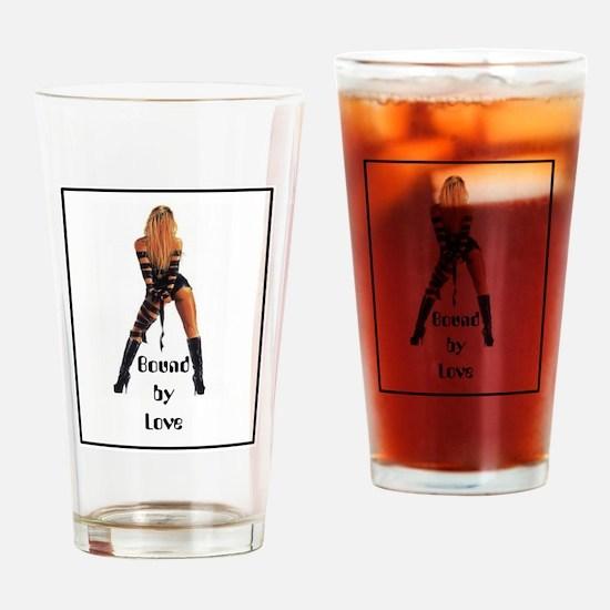 Bound by Love Drinking Glass