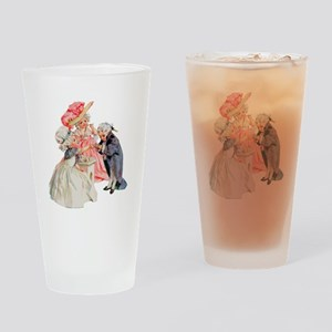Martha Washington's Tea Party Drinking Glass