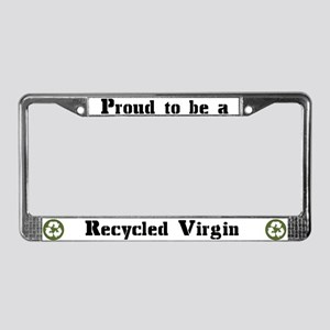 Recycled Virgin (Guys') License Plate Frame