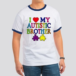 I Love My Autistic Brother Ringer T