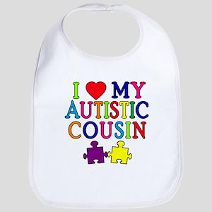 I Love My Autistic Cousin Bib