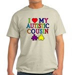 I Love My Autistic Cousin Light T-Shirt