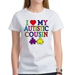 I Love My Autistic Cousin Women's T-Shirt