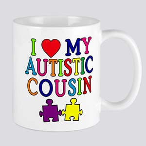 I Love My Autistic Cousin Mug