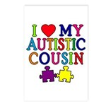 I Love My Autistic Cousin Postcards (Package of 8)