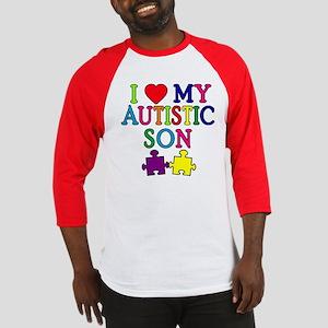 I Love My Autistic Son Tshirts Baseball Jersey
