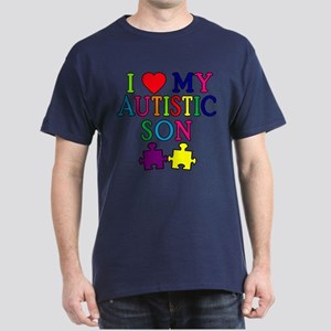 I Love My Autistic Son Tshirts Dark T-Shirt