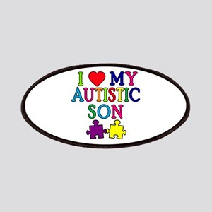 I Love My Autistic Son Tshirts Patches
