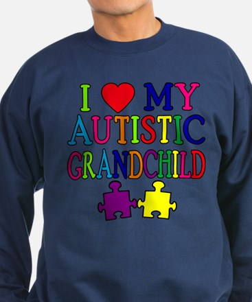 I Love My Autistic Grandchild Tshirts Sweatshirt