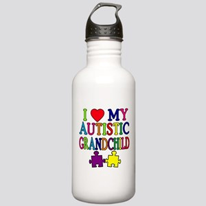 I Love My Autistic Grandchild Tshirts Stainless Wa