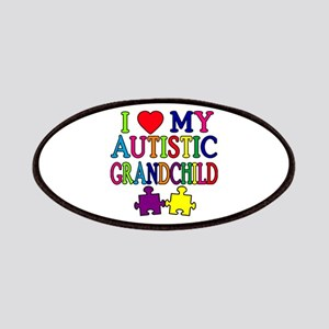 I Love My Autistic Grandchild Tshirts Patches
