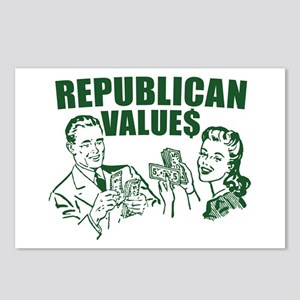 Republican Value$ Postcards (Package of 8)
