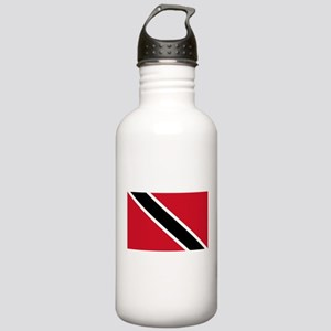 Trinidad and Tobago Flag Stainless Water Bottle 1.