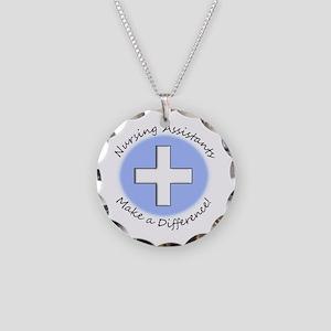 Nursing Assistant Necklace Circle Charm