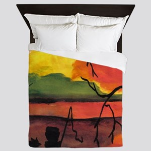 Dreaming The Day Art Queen Duvet