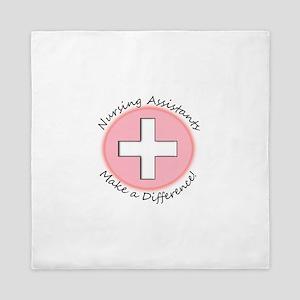 Nursing Assistant Queen Duvet