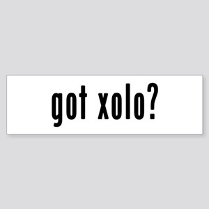 GOT XOLO Sticker (Bumper)