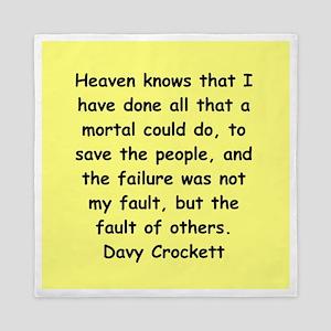 Davy Crockett Queen Duvet