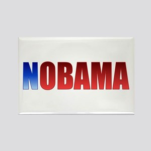 Blue N Nobama Rectangle Magnet