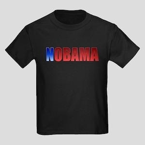 Blue N Nobama Kids Dark T-Shirt