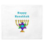 Happy Hanukkah King Duvet