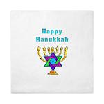Happy Hanukkah Queen Duvet