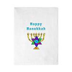 Happy Hanukkah Twin Duvet