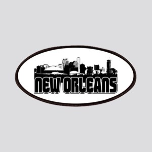 New Orleans Skyline Patches
