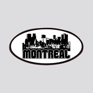 Montreal Skyline Patches
