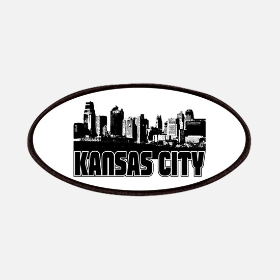 Kansas City Skyline Patches