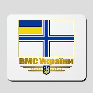"""Ukraine Naval Ensign"" Mousepad"