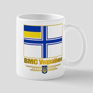 """Ukraine Naval Ensign"" Mug"