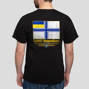 """""""Ukraine Naval Ensign"""" Dark T-Shirt"""