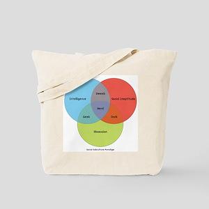 The Nerd Paradigm Tote Bag