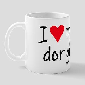 I LOVE MY Dorgi Mug