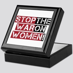 Stop The War on Women Keepsake Box