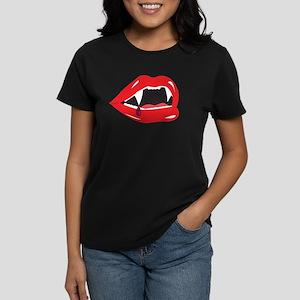 Sexy Lips Women's Dark T-Shirt