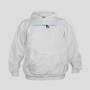 I Can Out-WOD My Daddy Kids Hoodie