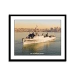USS ANCHORAGE Framed Panel Print