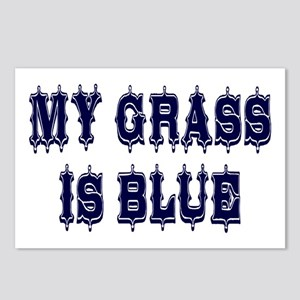 Vintage My Grass Is Blue Postcards (Package of 8)