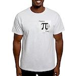 Happy Pi Day Ash Grey T-Shirt