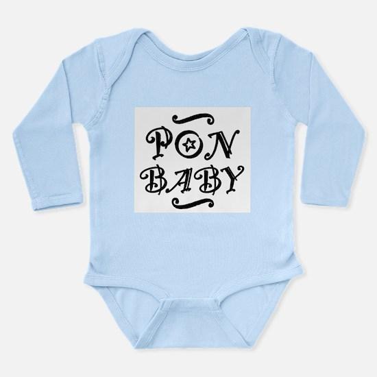 Pon BABY Long Sleeve Infant Bodysuit